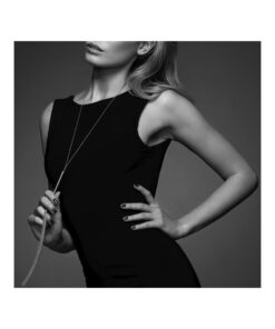 Collier Fouet Argent-sexy et sensuelle