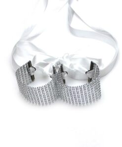 vixen tyecuffs blanc sexy sensuel