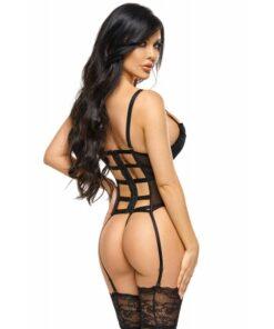 monica-guepiere corset sexy lingerie sensuelle