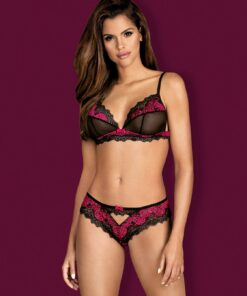 ensemble noir tulia 2 pcs