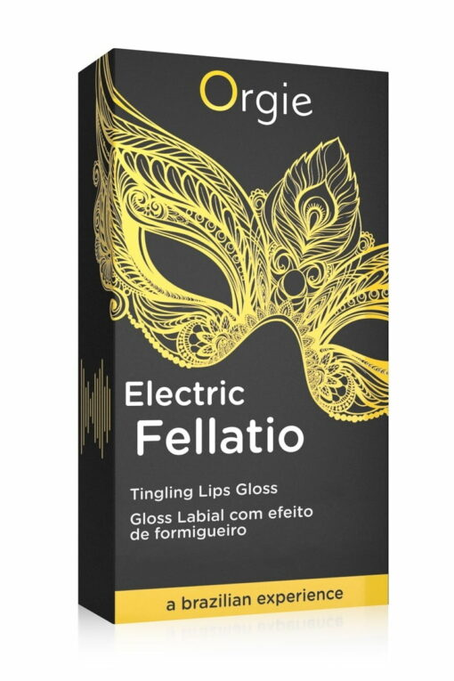 Gloss Fellation Sexy Vibe electric unisexe