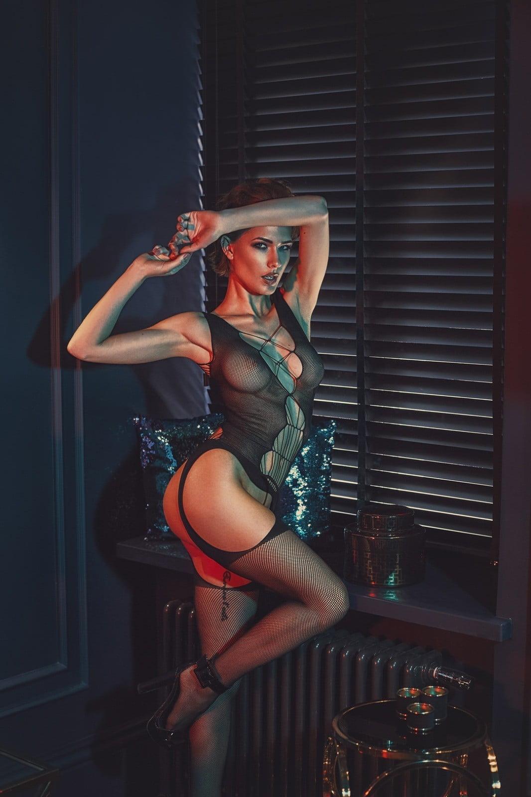 bodystocking chelsie - body sexy noir