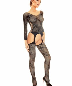 Bodystocking Onixx noir - body sexy